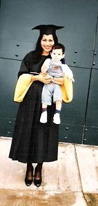 Graduación de Mariana Octubre 1997