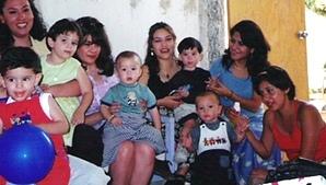 Una fiesta infantil en casa de Paty Villa 1998