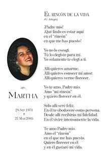 La Oración De Martha